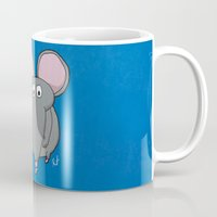 mouse Mugs featuring Mouse by Rafael Martinez