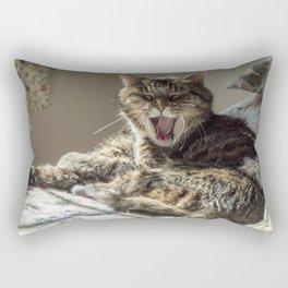 The laughing cat Rectangular Pillow