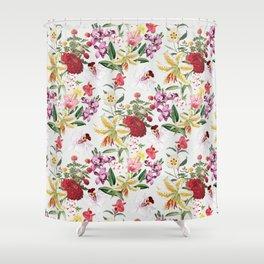Botanical Garden VS021 Shower Curtain
