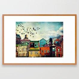 A Grand Avenue Framed Art Print