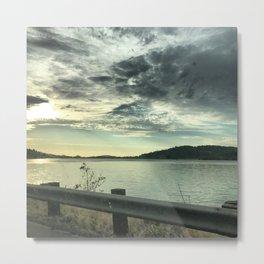 An Oregon Lake Metal Print