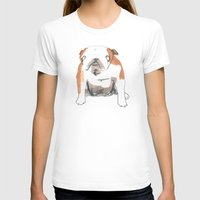bulldog T-shirts featuring Bulldog by jo clark