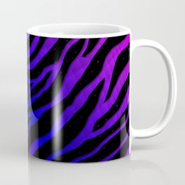 Ripped SpaceTime Stripes - Pink/Blue Coffee Mug