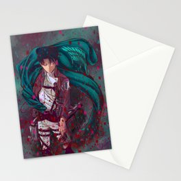 Attack On Titan Fanart - Levi Ackerman (Version 2/5) Stationery Cards