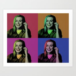 Piper Chapman Pop Art  Art Print