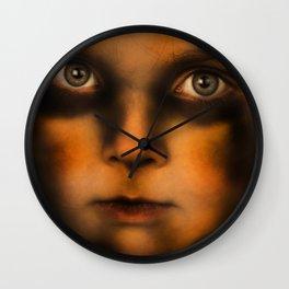 Vampire Stare Wall Clock