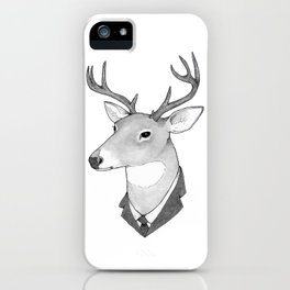 Mr. Deer iPhone Case
