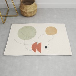 Minimal Shapes No.48 Rug