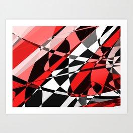 Strawberry Stains Art Print