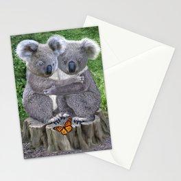 Baby Koala Huggies Stationery Cards