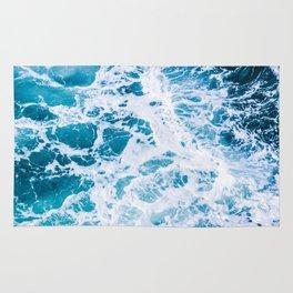 Perfect Ocean Sea Waves Rug