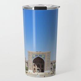 Uzbekistan, Samarkand: Registan Travel Mug