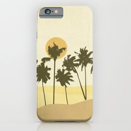 Palms zone iPhone Case