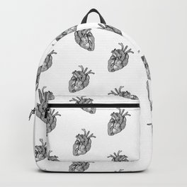 Croquis de cœur Backpack