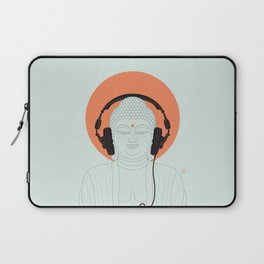 Buddha : Listen to Om! Laptop Sleeve