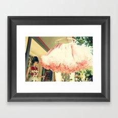 Crinoline Skirt  Framed Art Print