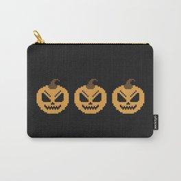 Pixel Pumpkins Carry-All Pouch