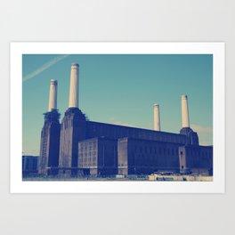 Battersea Power Station 3 Art Print