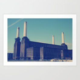 Battersea Power Station 3 Art Print