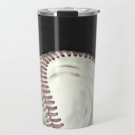 Vintage Baseball Art Travel Mug