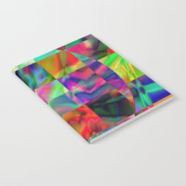 ABSTRACT ART CRASSCO COLORFUL Notebook