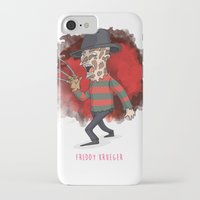freddy krueger iPhone & iPod Cases featuring 26 - Freddy krueger by Jomp