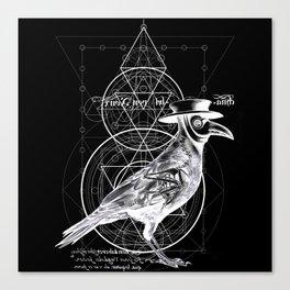 The Raven dark Canvas Print