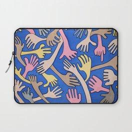 Hand over Hand Laptop Sleeve