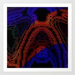 Warm and Cool Art Print