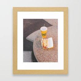Nathan's Coney Island, 2017 Framed Art Print