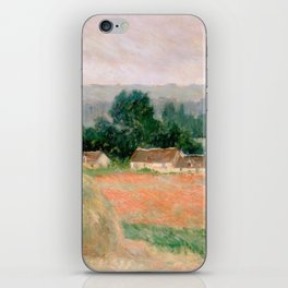 Haystack at Giverny by Claude Monet iPhone Skin