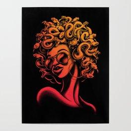 Funky Medusa II Poster