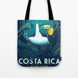 costa rica rainforest Tote Bag