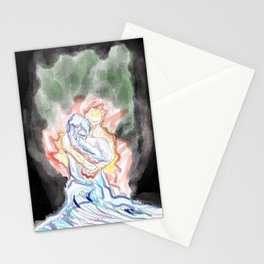 Fire and Desire Stationery Cards