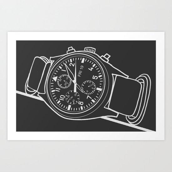 Andrey Watch Art Print