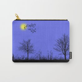 Blue panorama Carry-All Pouch