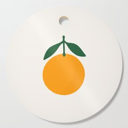 Orange Summer Citrus Cutting Board