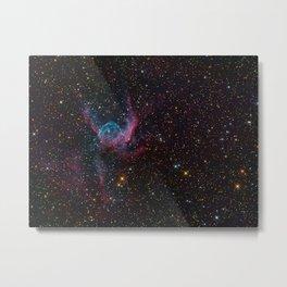 Thor's Helmet Nebula Metal Print