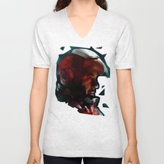 The Knight in the Shining Armour...  Unisex V-Neck