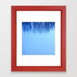 Hairy Sky Framed Art Print