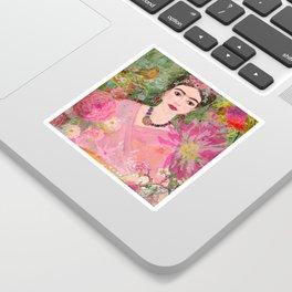Frida Be Happy Sticker