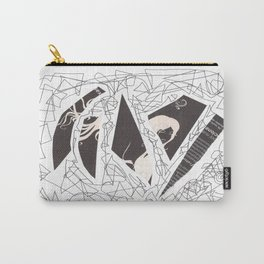 Collage black 675 Carry-All Pouch