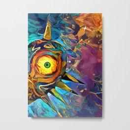 Colorful Majora´s Mask II Metal Print