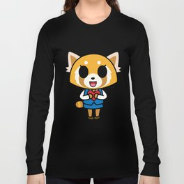Aggretsuko Loves You! Long Sleeve T-shirt
