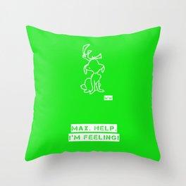 GRINCH Throw Pillow