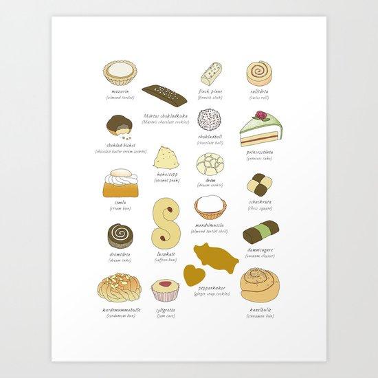 Swedish Cakes & Cookies by johannakindvall