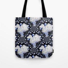 Fractal Lily Vase - BWB Tote Bag