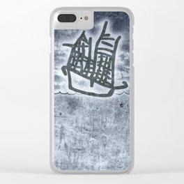 Fragata a la vista! Clear iPhone Case