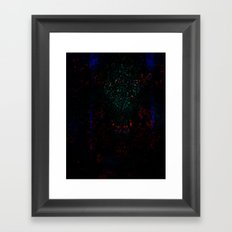 EH-WEANS-HELLO-2 Framed Art Print