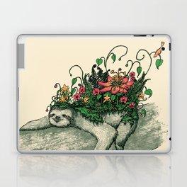 Sloth Garden Laptop & iPad Skin